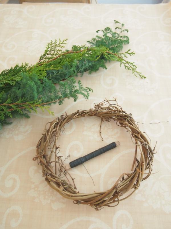 サツマスギ コヒバ クリスマスリース